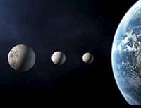 Построена карта обитаемых планет