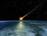 В древнем метеорите найдены органические соединения
