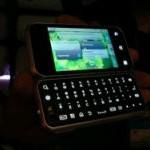 Motorola представляет Backflip на выставке CES