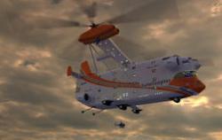 Вертолет - Летающий Отель