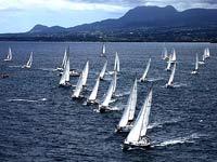 Завершилась парусная фрегата у карибских берегов