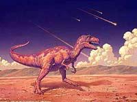 Динозавры вымерли не от астероида