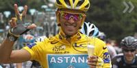 "Контадор третий раз выиграл ""Тур де Франс"""