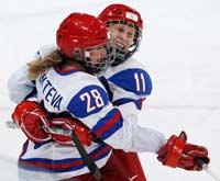 Женская сборная России по хоккею шестая