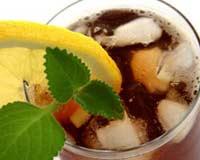 Холодный чай образует камни