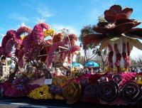 Ежегодный Парад роз в Калифорнии