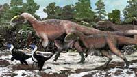 Пернатые тираннозавры