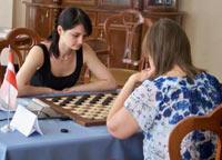 В шашках лидировала Украина