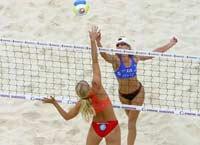 Большой шлем по пляжному волейболу