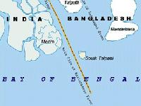 Остров в Бенгальском заливе ушёл под воду