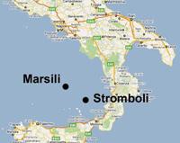 Найден опасный вулкан на юге Италии