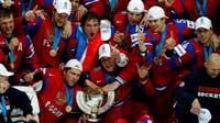 На ЧМ по хоккею чемпионы - россияне