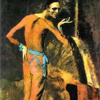 Пикассо пострадал от женщины