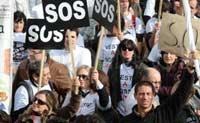Португалия протестует