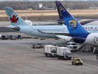 Аэропорты бастуют
