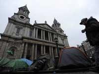 Лагерь Захвати Лондон будет снесен
