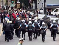 В Канаде продолжаются беспорядки