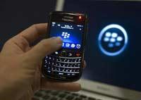 Прибыль BlackBerry