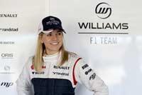 Первая женщина-пилот в Ф1 за 22 года
