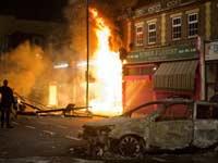 Лондон в огне