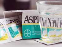 Аспирин приводит к потере зрения