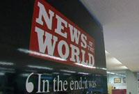 News of the World разразилась последним выпуском