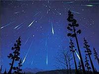 Землю ожидает метеоритный шторм