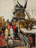 Установлена ещё одна картина Ван Гога