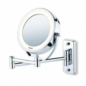 Зеркало двустороннее настенное с подсветкой