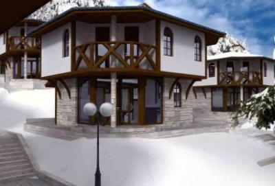 Дом в горах Болгарии