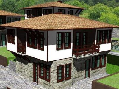 Дома в горах Болгарии