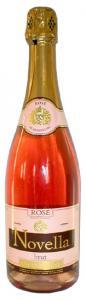 Шампанское розовое брют НОВЕЛЛА РОЗЭ