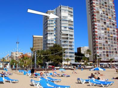 Апартаменты на пляже Коста Бланка