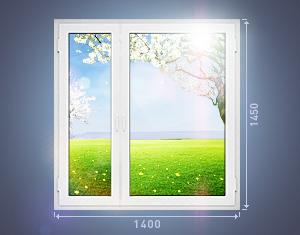 Белые окна рехау