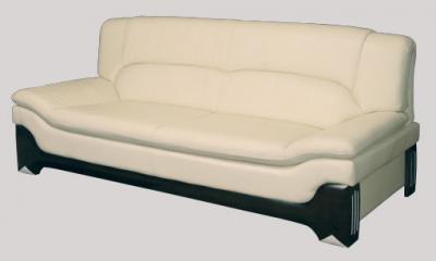 Бежевый офисный диван