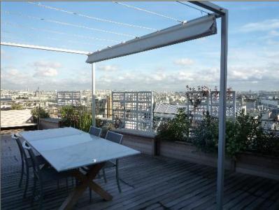 Апартаменты с видом на Париж