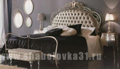 Кованная итальянская кровать