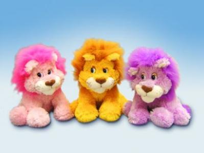 Мягкая игрушка львенок