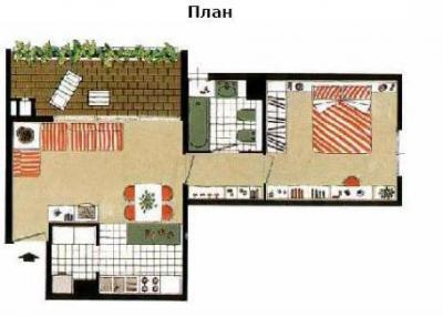 Квартира в Милане планировка