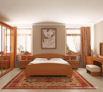 Спальня натуральное дерево