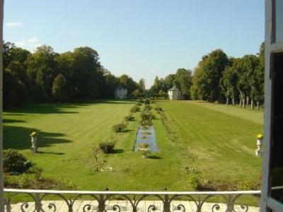 Замок Франции Нормандия