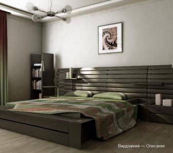 Спальня из дерева сосна