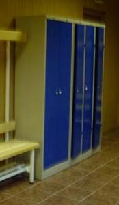 Шкаф для раздевалки металлический