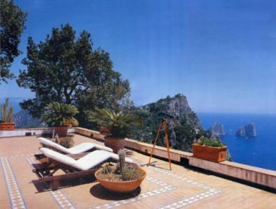 Вилла на острове Капри Италия