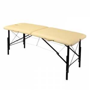 Складной массажный стол с изменением высоты