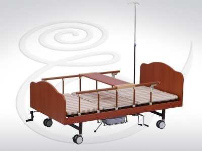 Кровать функциональная механическая с туал. устр.