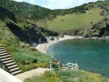 Пляж коттеджа на Сардинии