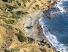 Участок у моря на острове Крит