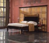 Удобная спальня из дерева
