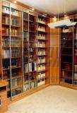 Книжный шкаф с подстветкой